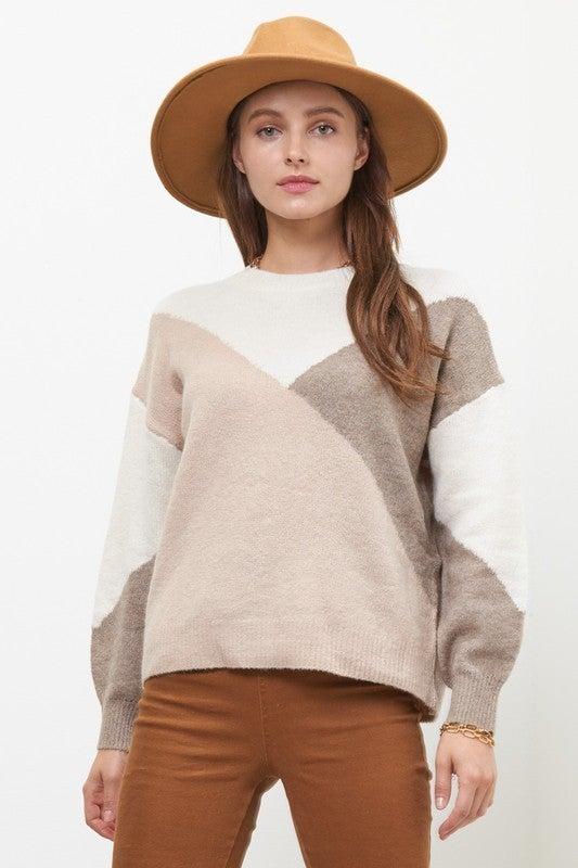 Cutting Corners Sweater