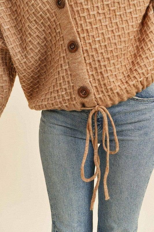Mochalatte Knitted Hoodie