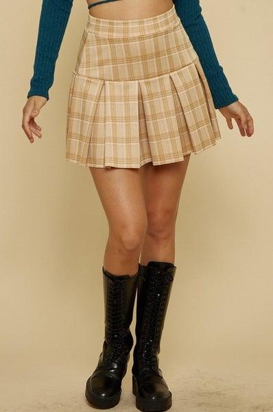 Fallin' In Love Tennis Skirt