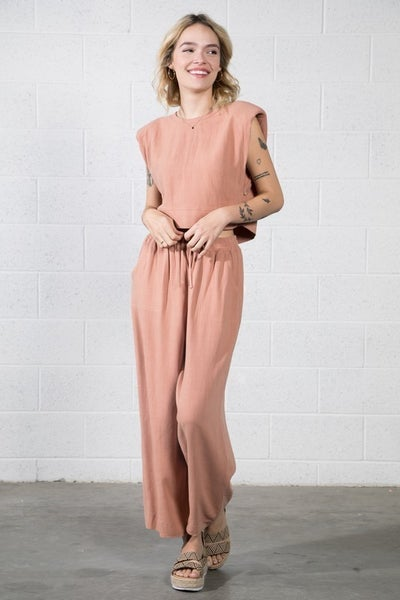 Sophia Top and Pants Set