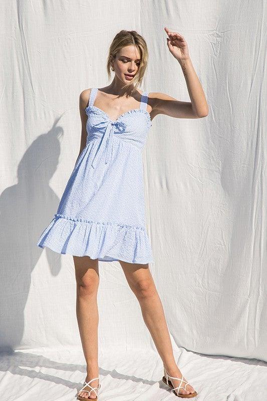 Belle Ruffle Dress *Final Sale*