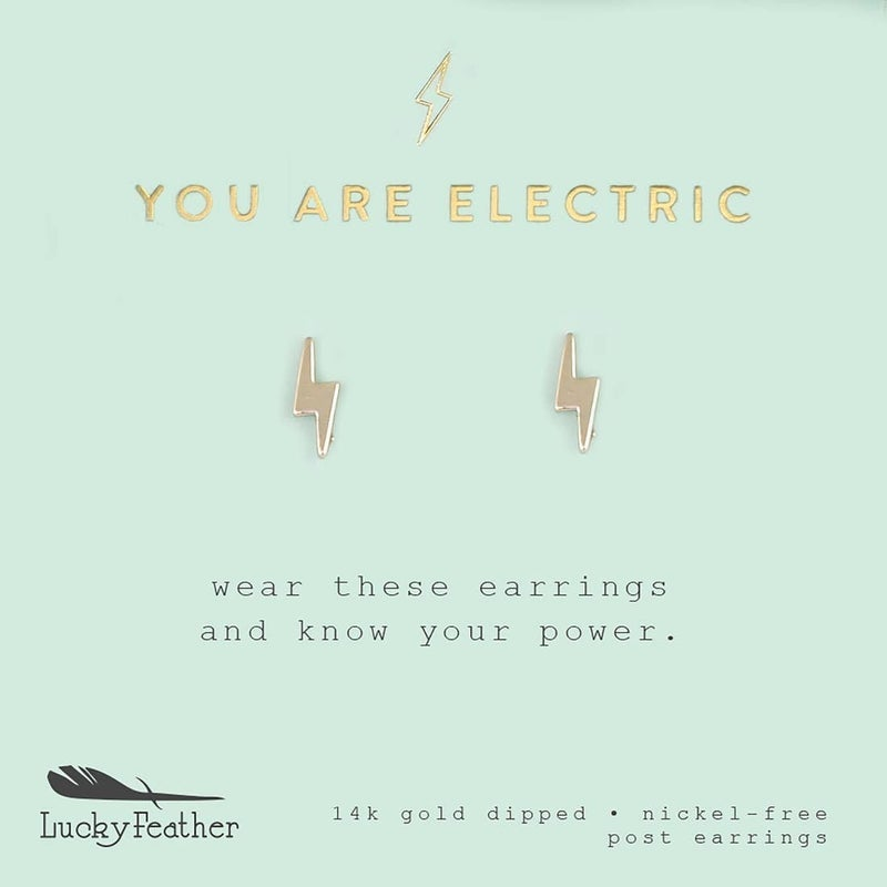 You Are Electric Earrings