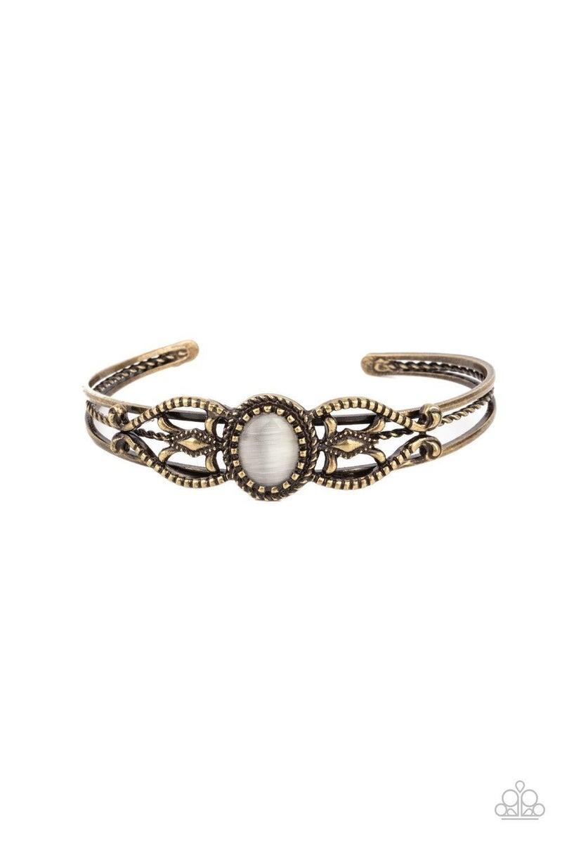 Wait and SEER - Brass Bracelet