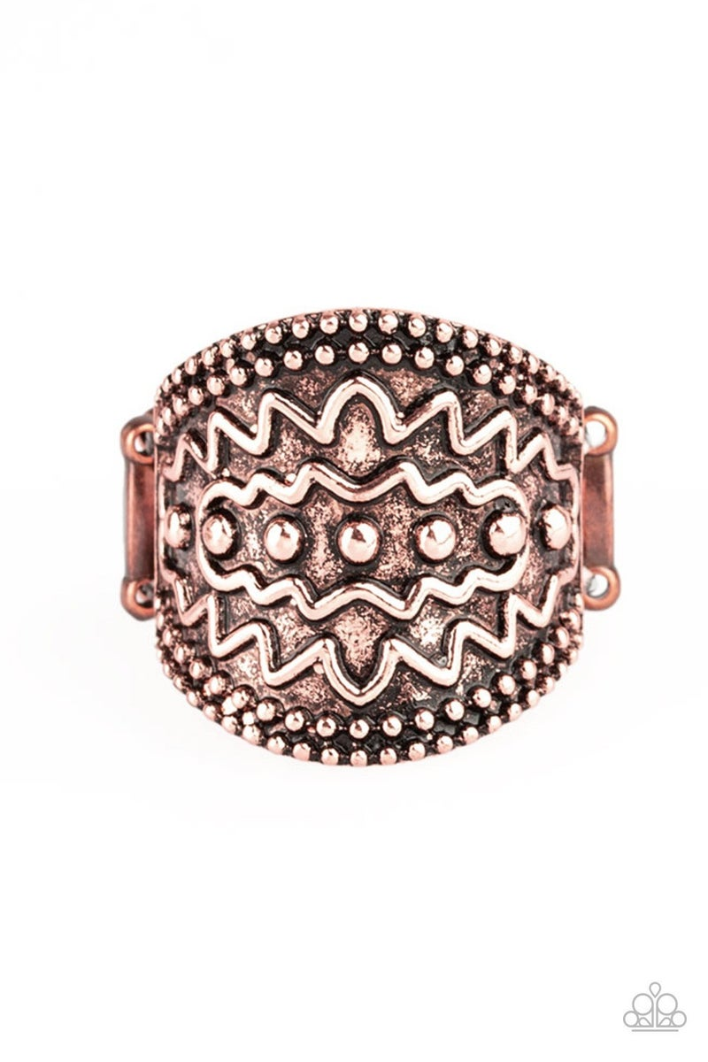 Island Rover - Copper Ring