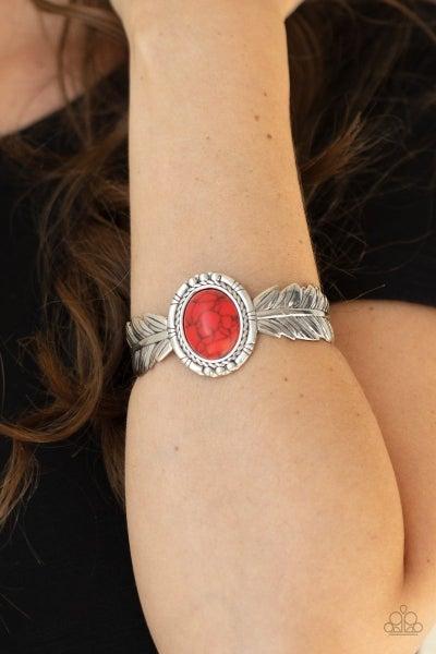 Western Wings - Red Bracelet