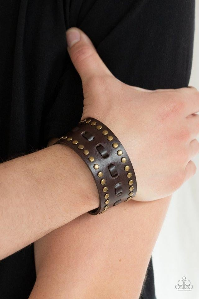 A ROAM With A View - Brown Bracelet