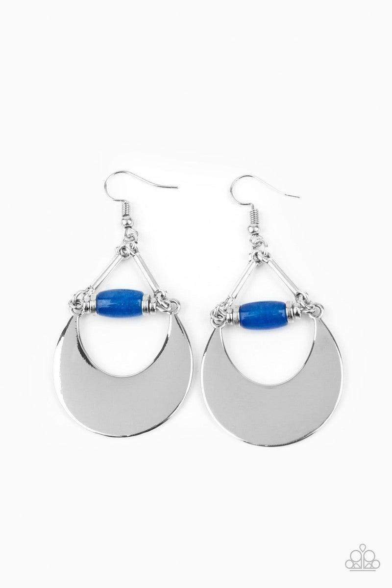 Mystical Moonbeams - Blue Earring