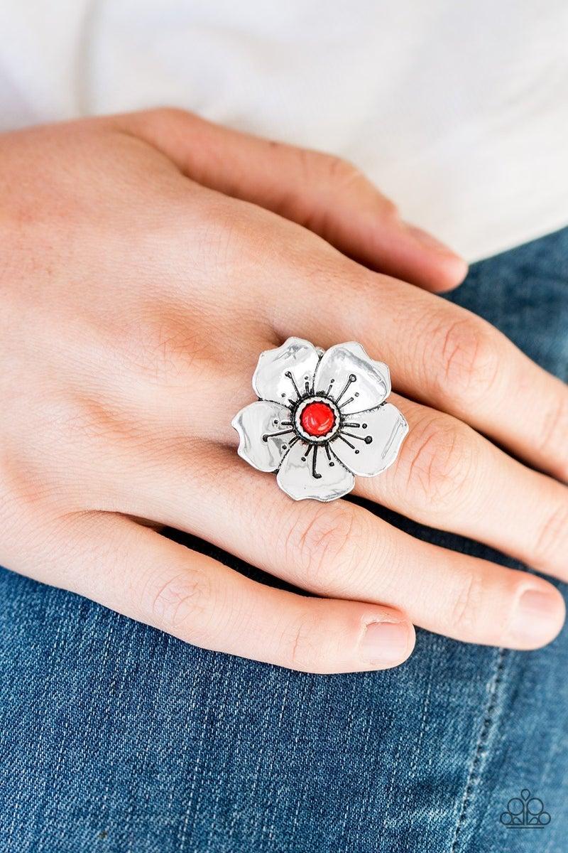 Boho Blossom - Red