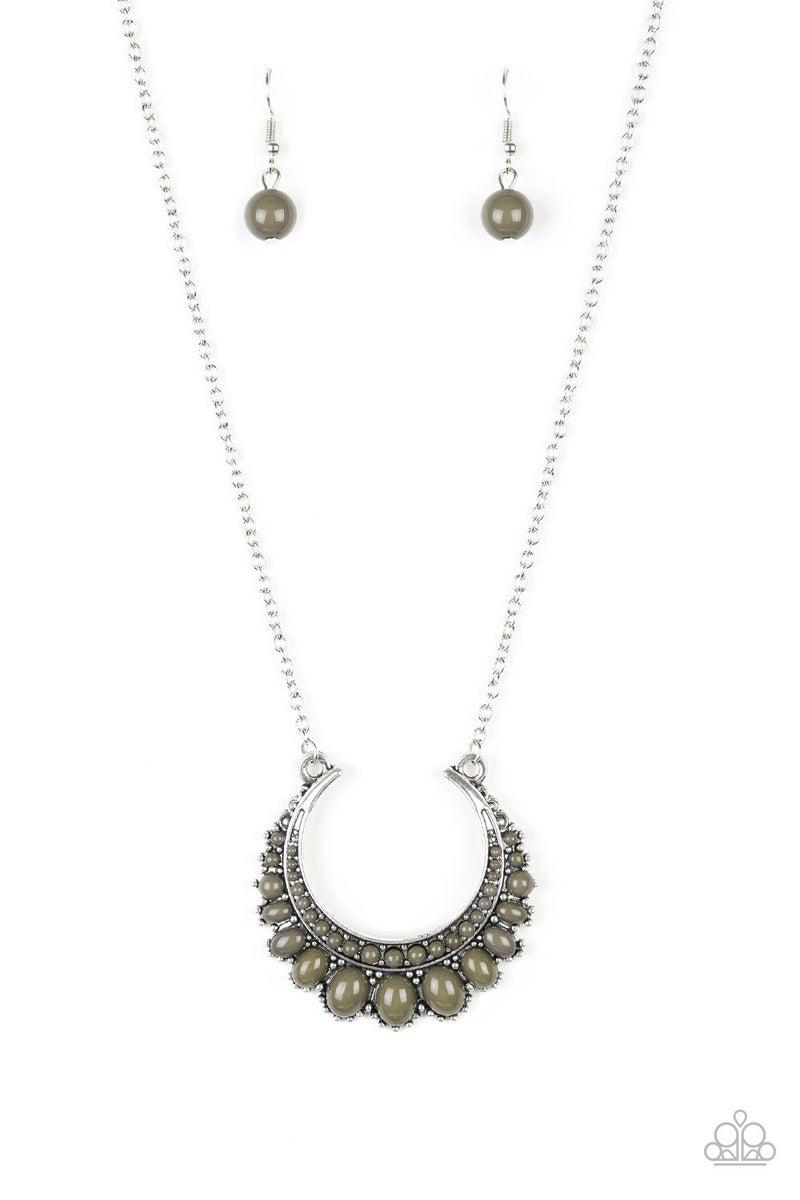 Count To ZEN - Green Necklace set
