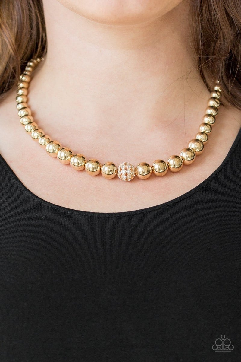 High-Stakes FAME - Gold Neklace