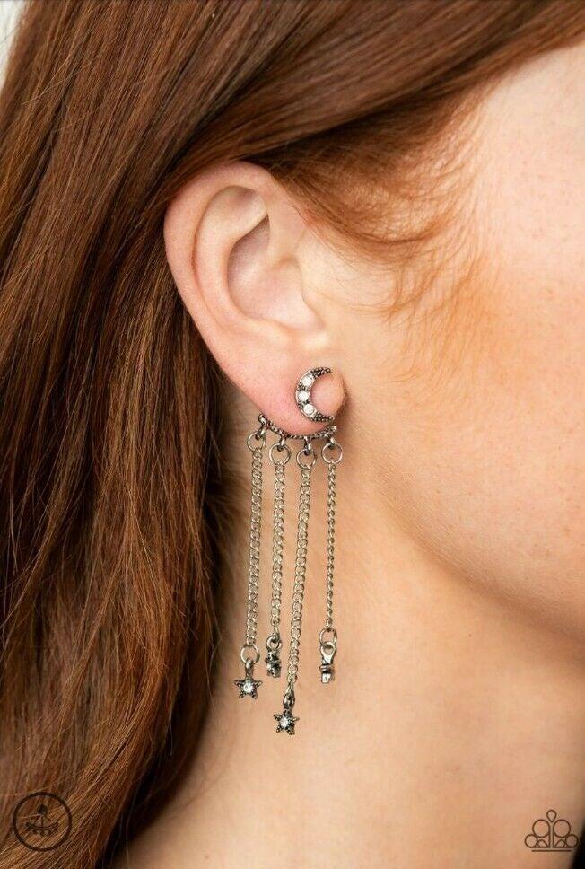 Cosmic Goddess - white -  earrings