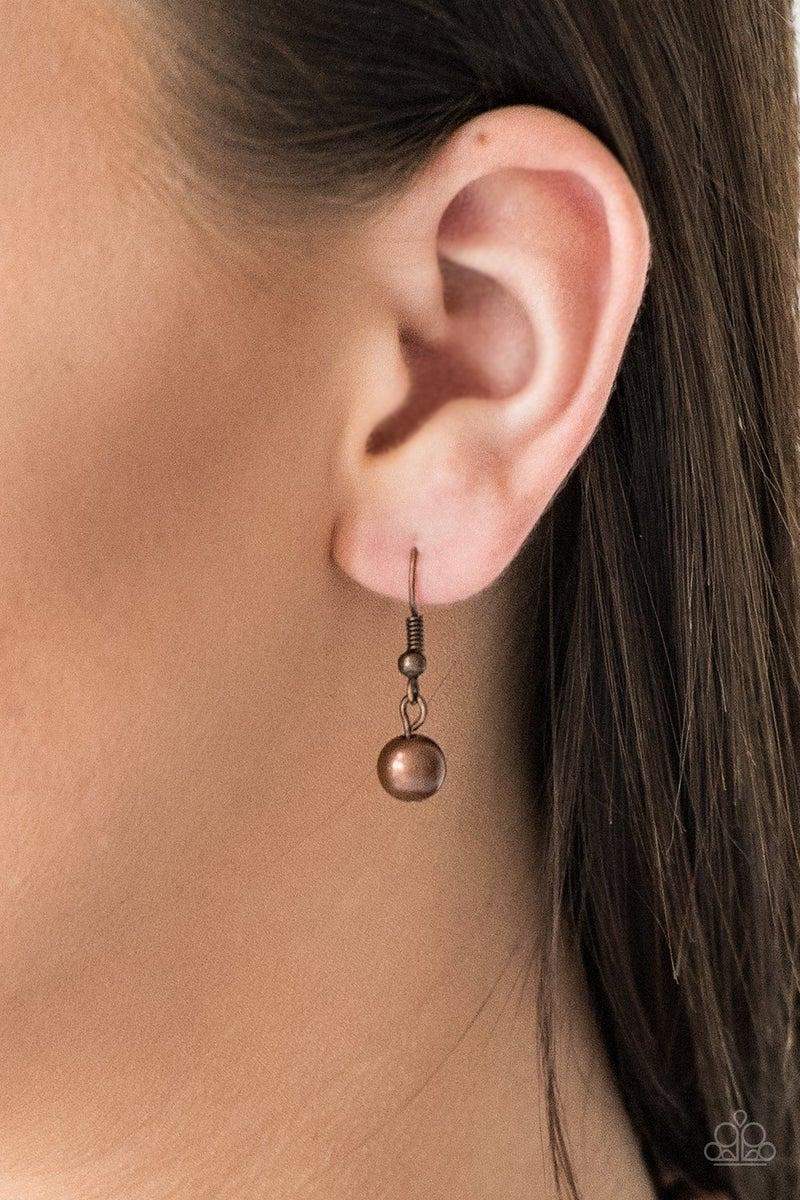 I Double Dare You - Copper Necklace