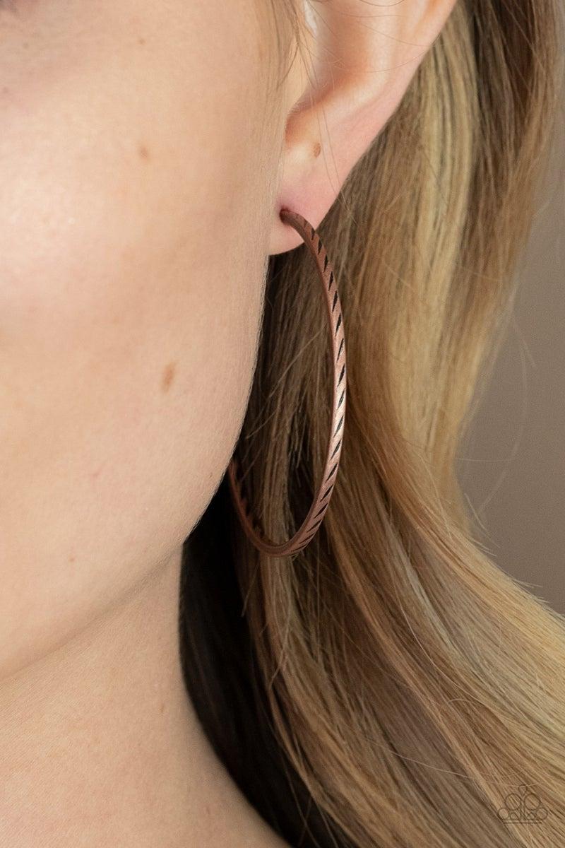 Rural Reserve - Copper Earrings