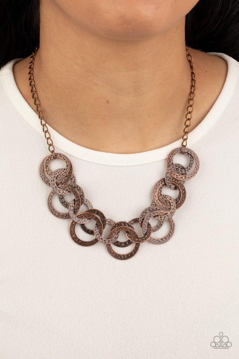 Treasure Tease - Copper Necklace set