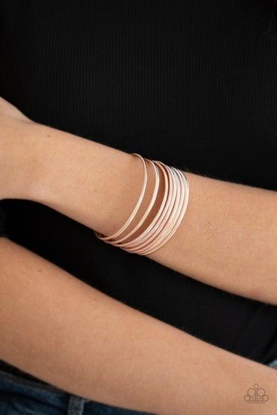 Now Watch Me Stack - Rose Gold Bracelet