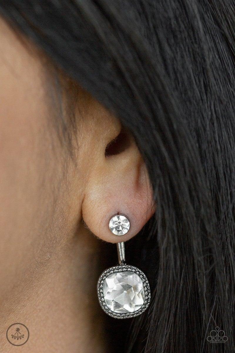Celebrity Cache - Black Earring