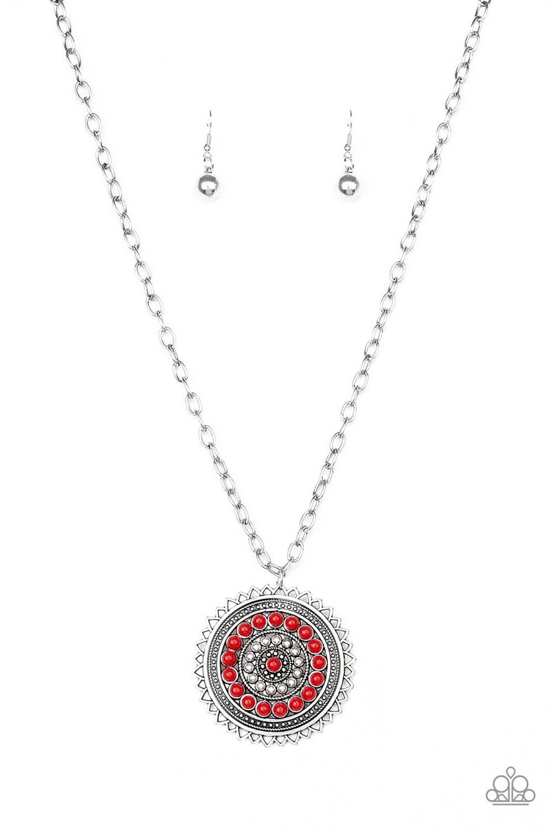 Lost SOL - Red Necklace
