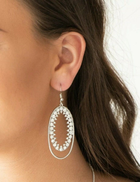 Marry into Money White Earring
