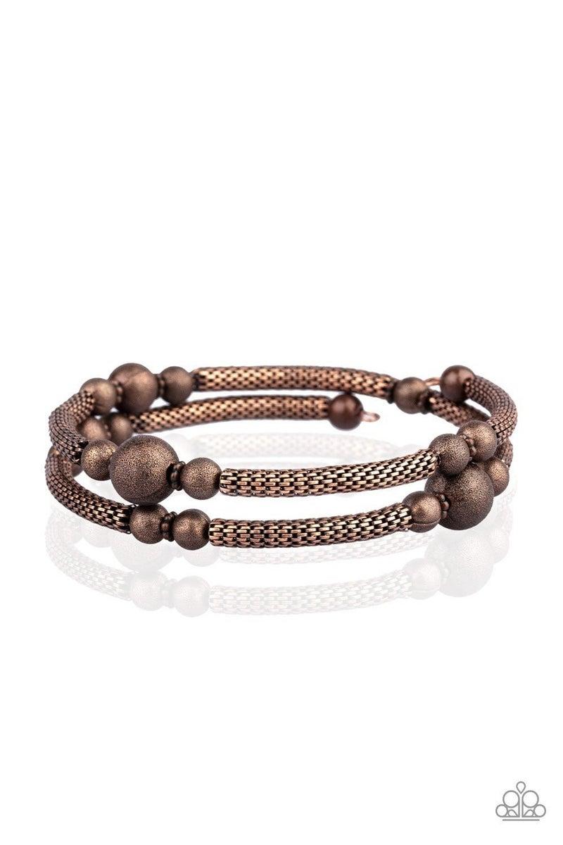 West End Wraparound - Copper Bracelet