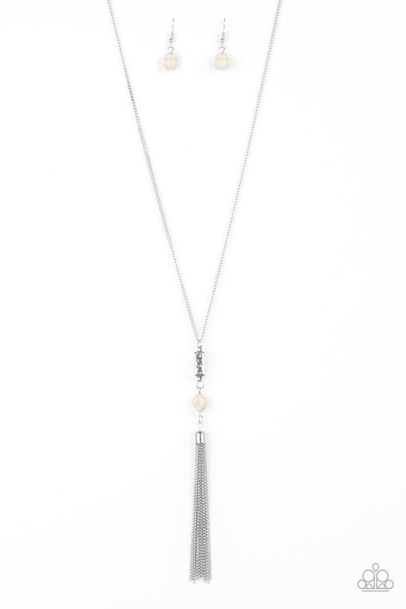 Wild Horse Wonder - White Necklace