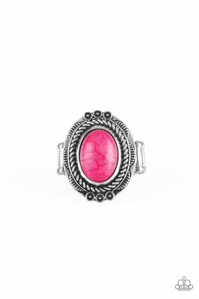 Paparazzi Ring ~ Tumblin Tumbleweeds - Pink