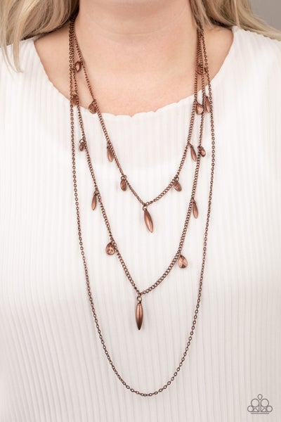 Bravo Bravado - Copper Neckalace