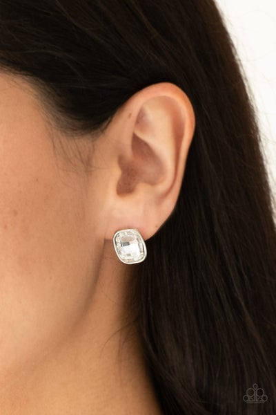 Incredibly Iconic - White Earring
