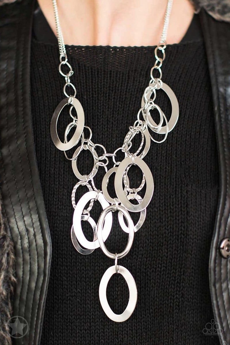 A Silver Spell  Blockbuster Necklace