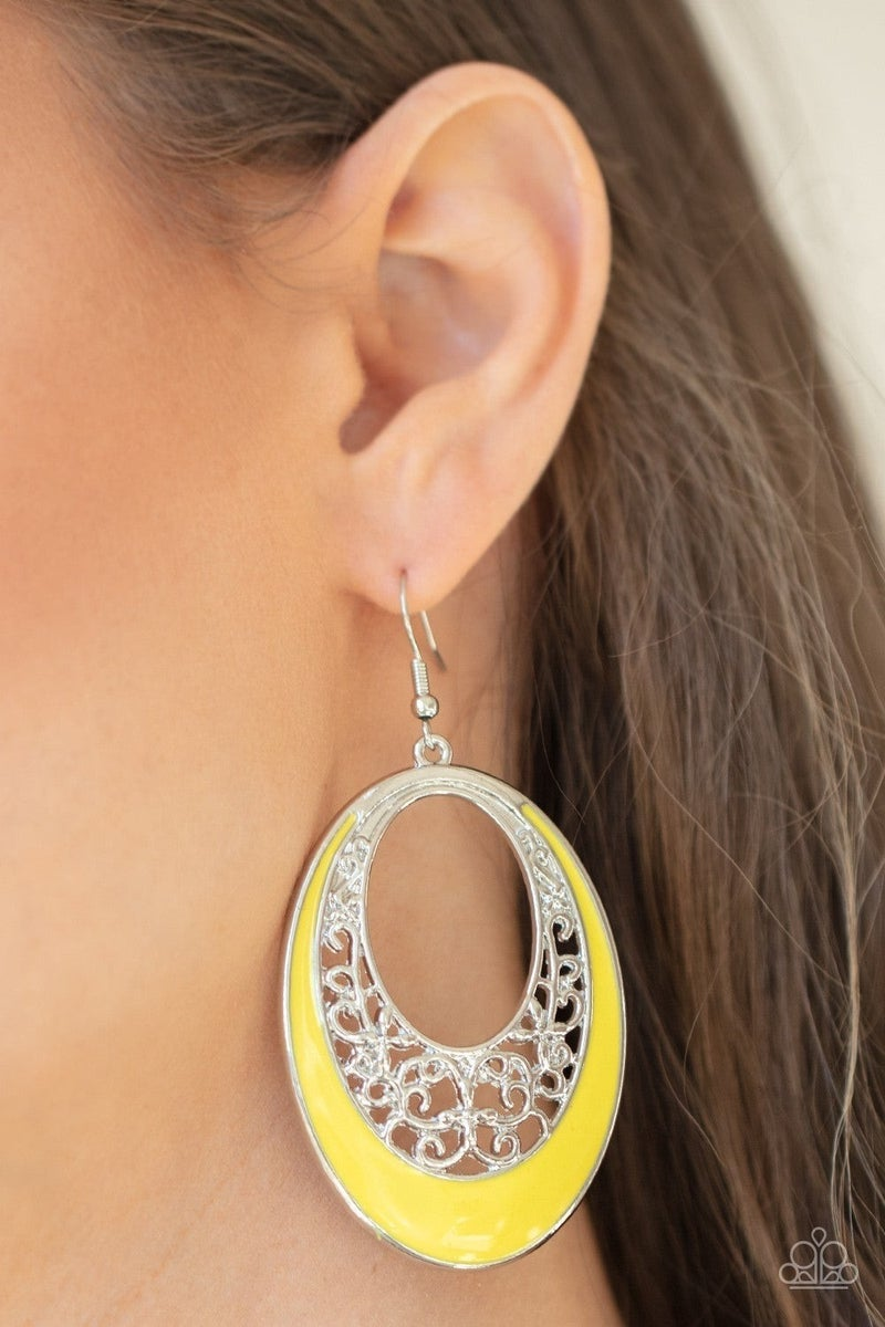 Orchard Bliss - Yellow Earring