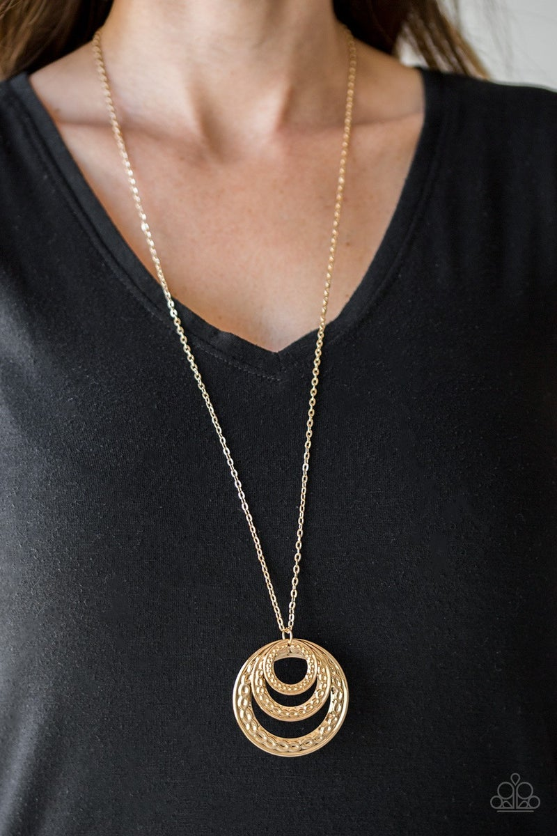 Savagely She-Wolf - Gold Necklace set