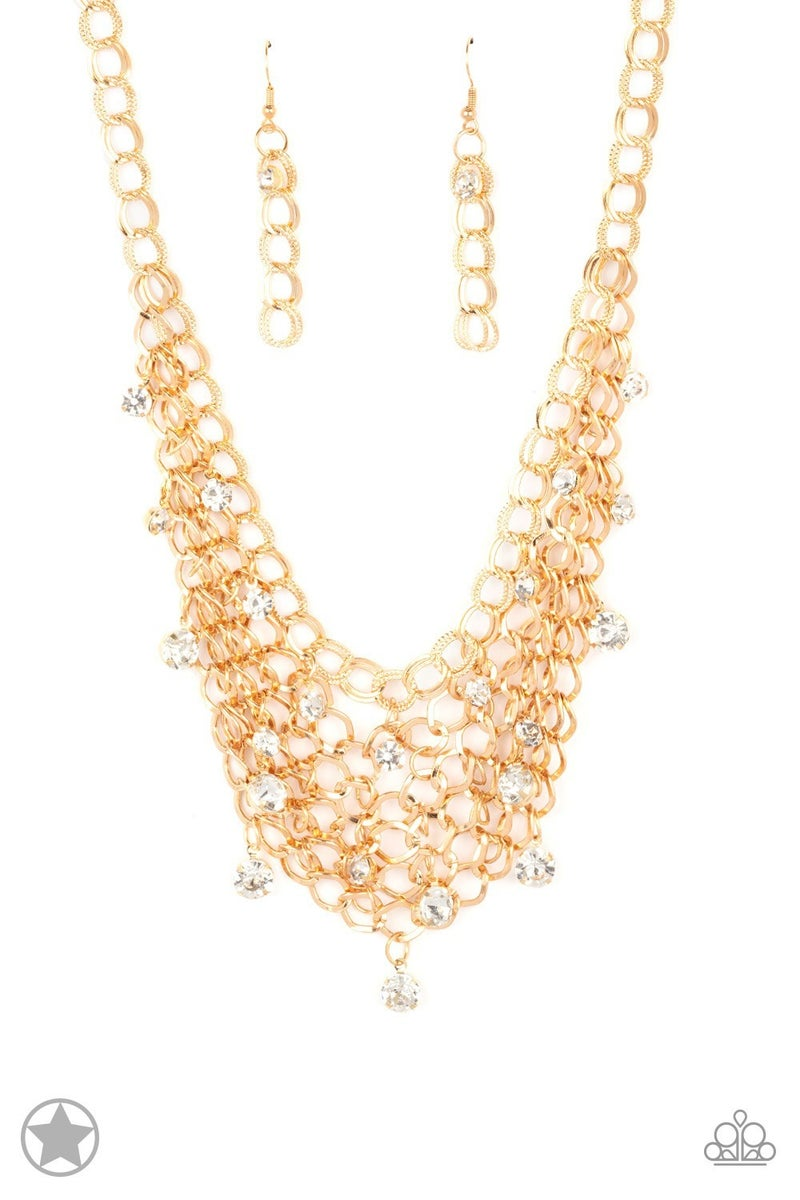 Fishing for Compliments - Gold Necklace