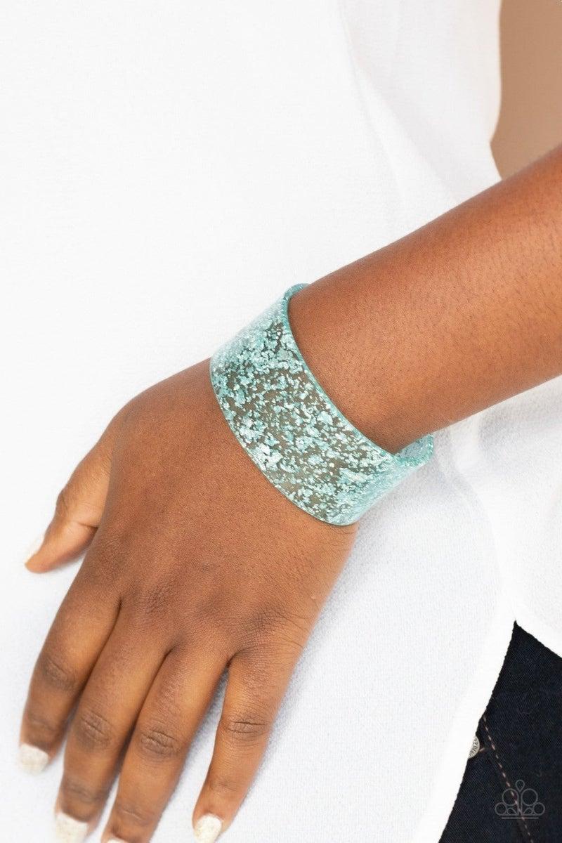 Snap, Crackle, Pop! - Blue Bracelet
