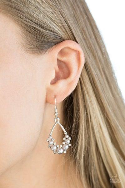 Fancy First - Silver Earring