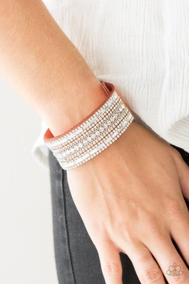 Rebel Radiance Orange Bracelet
