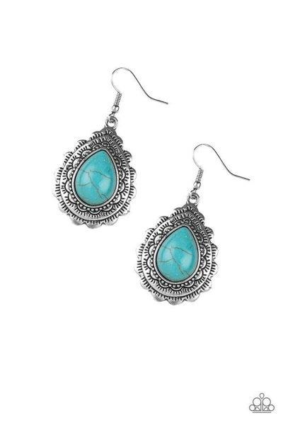 Mountain Mover Blue Earrings