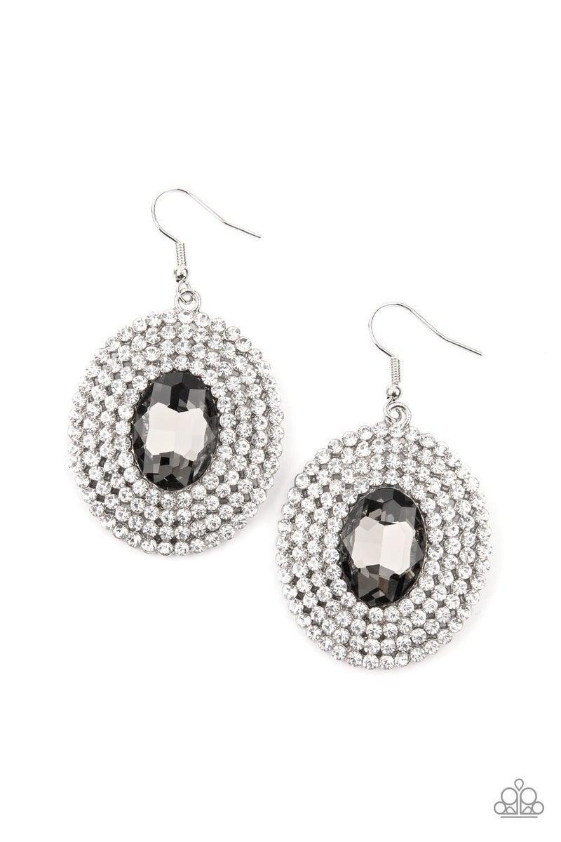 FIERCE Field - Silver Earring