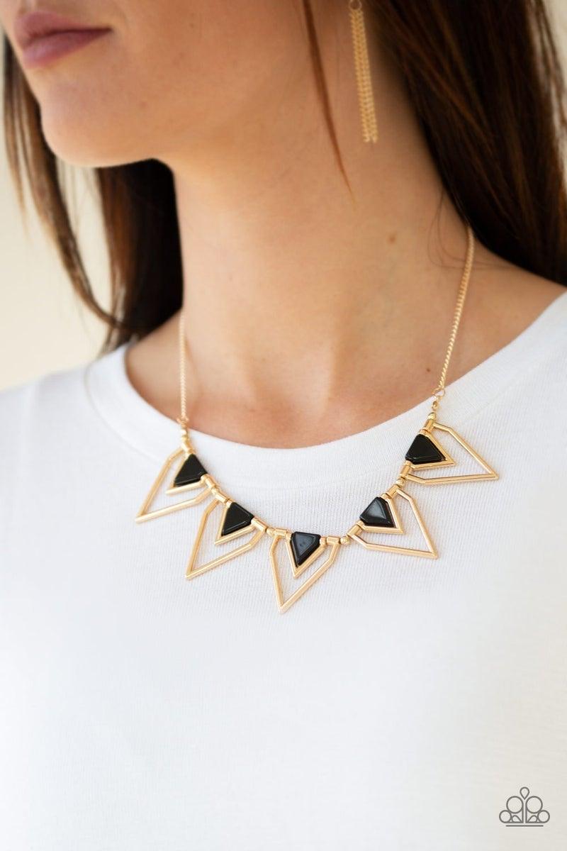 The Pack Leader - Gold Necklace set