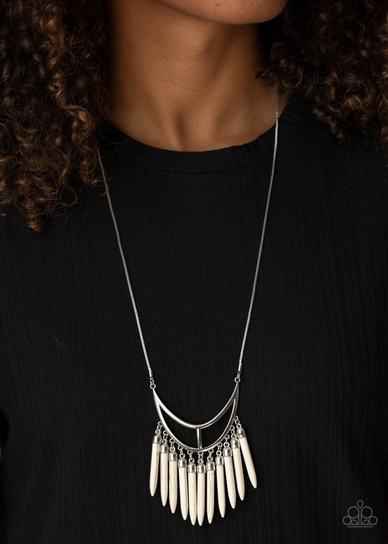 Stone Age A-Lister - White Necklace