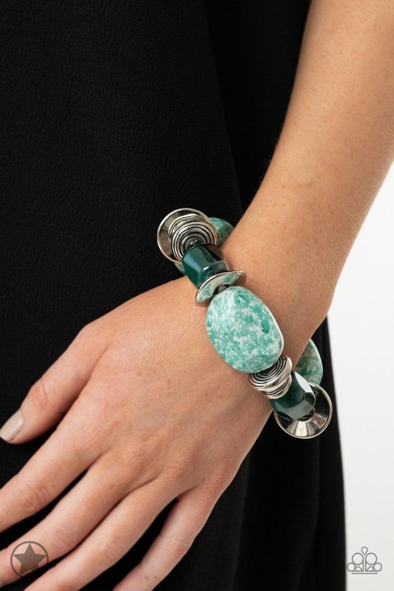 Glaze of Glory - Blue Bracelet