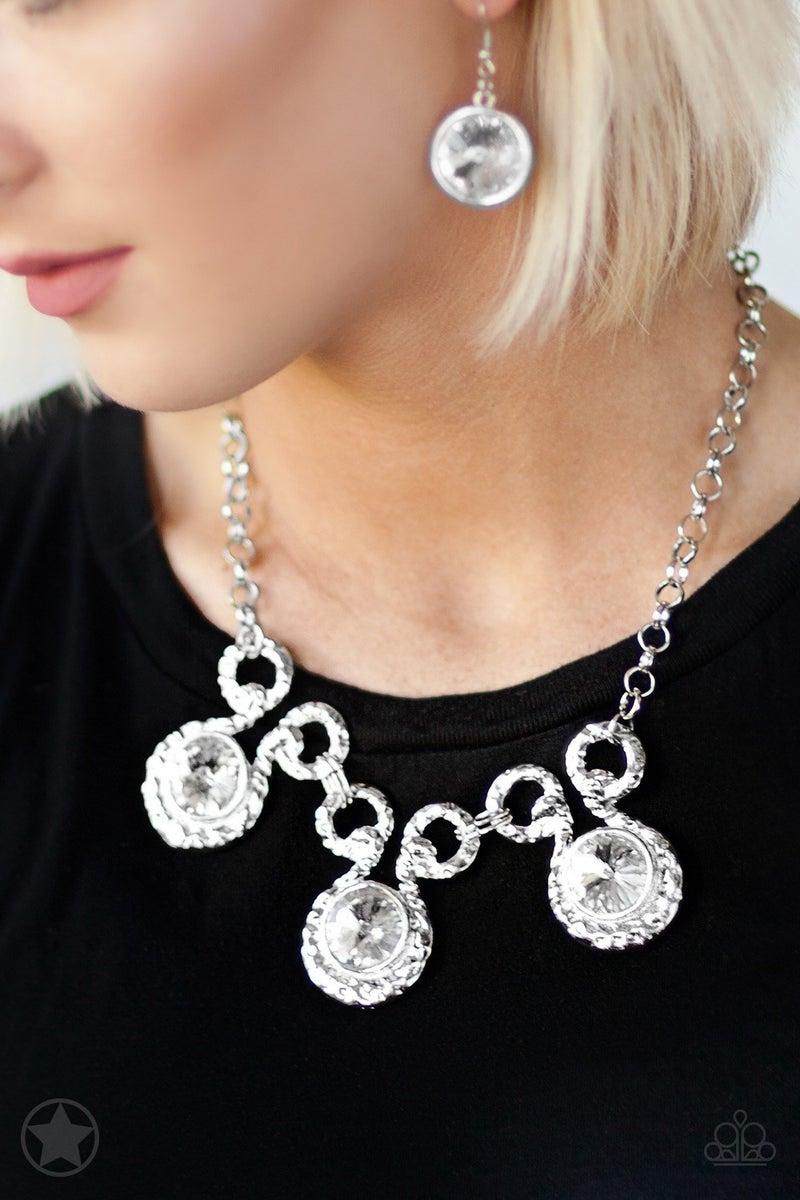 Hypnotized - Silver Necklace