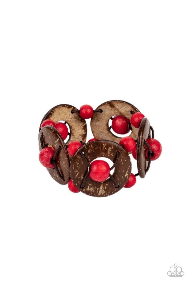 Island Adventure - Red Bracelet