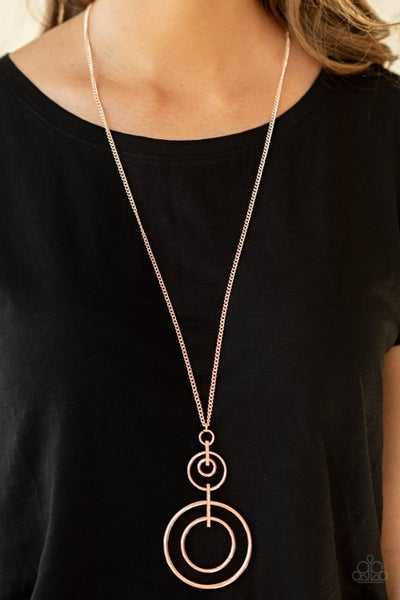 The Inner Workings - Rose Gold Necklace set