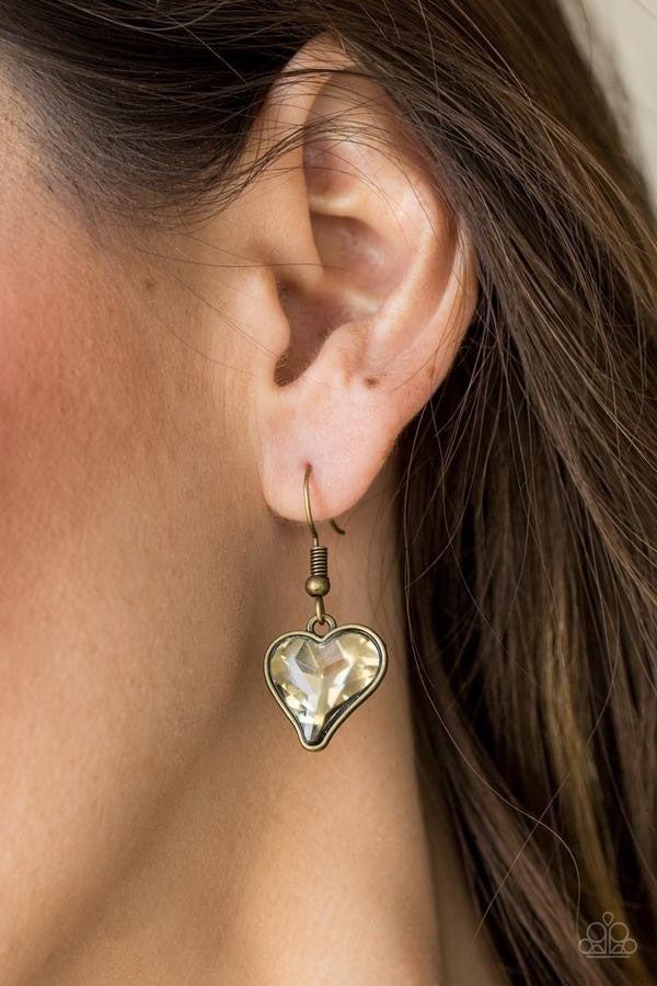 Paparazzi Princeton Princess - Necklace Brass