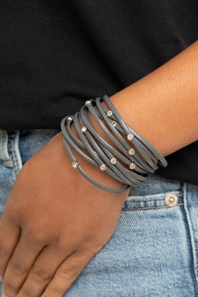 Fearlessly Layered - Silver Bracelet