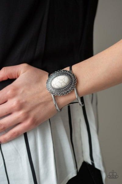 Extra EMPRESS-ive - White Bracelet