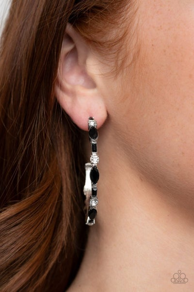 There Goes The Neighborhood - Black Earring