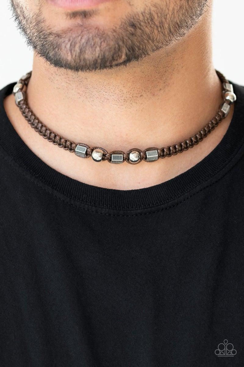 Take a Trek - Brown Necklace