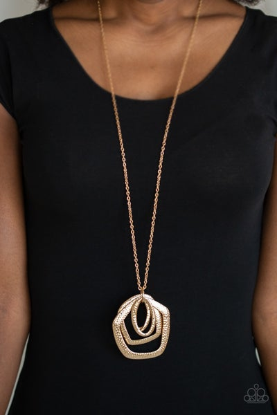 Urban Artisan Copper Necklace & Earring Set