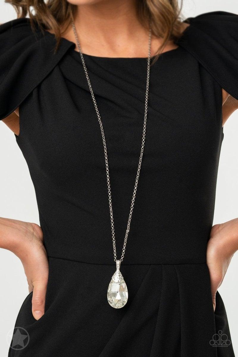 Spellbinding Sparkle - White Necklace