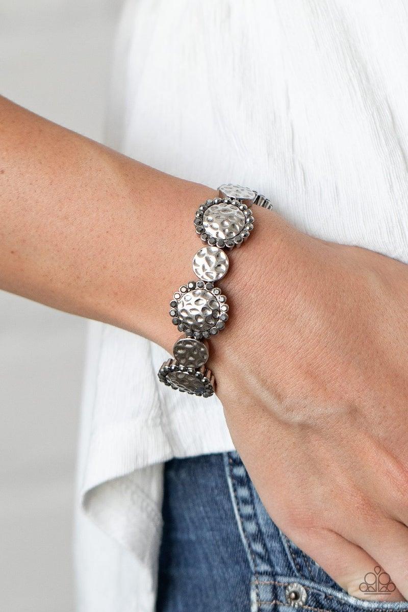 Mixed Up Metro - Silver Bracelet